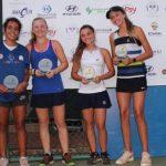 Antonia Vergara y Martina Pavissich se titularon campeonas de dobles U14 en el Guayaquil Bowl