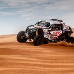 """""""Chaleco"""" López sufre problemas mecánicos y baja al segundo lugar de la general en el Dakar"""