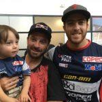 """""""Chaleco"""" López llegó al país y anunció que trabajará con miras al Dakar 2021"""