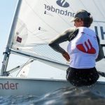 Clemente Seguel finalizó en el lugar 19 de la regata Kiel Woche