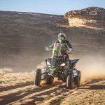 Ignacio Casale mantiene el liderato de los quads tras la quinta etapa del Dakar