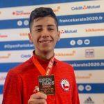 Joaquín González gana medalla de bronce en el Karate 1 Premier League de París