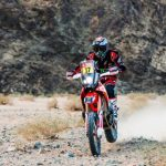 José Ignacio Cornejo ganó la cuarta etapa de las motos en el Dakar
