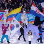 Matilde Schwencke fue la abanderada nacional en la inauguración de los Juegos Olímpicos de la Juventud de Invierno