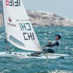 Clemente Seguel ganó las cuatro regatas en el inicio del Clasificatorio Olímpico de Láser Standard