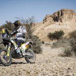 Pablo Quintanilla sigue segundo en las motos tras ganar la novena etapa del Dakar