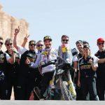 Pablo Quintanilla logra un histórico segundo lugar en las motos en el Dakar 2020