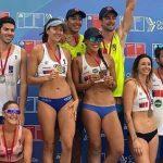 Duplas Vorpahl/Rivas y Droguett/Lindemann ganaron la tercera fecha del Circuito Nacional de Volleyball Playa