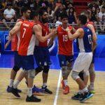 La Roja de Volleyball Masculino sumó su segundo triunfo sobre República Dominicana
