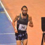 Carlos Díaz obtuvo el tercer lugar en los 3000 metros planos del Gran Premio Indoor de Valencia