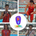 Chile sumó cuatro nuevas medallas en el Panamericano Juvenil de Natación