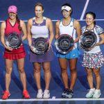 Alexa Guarachi y Kaitlyn Christian se quedaron con el subcampeonato de dobles del WTA de San Petersburgo