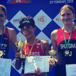 Bárbara Riveros ganó el Triatlón de Chennai
