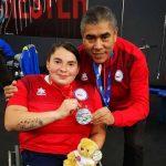 Camila Campos ganó medalla de plata en la Copa del Mundo de Para Powerlifting de Manchester