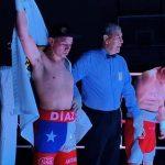 Carlos Díaz derrotó por decisión unánime a Ricardo Vera