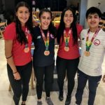 Chile obtuvo tres medallas de bronce en el Sudamericano Juvenil de Squash
