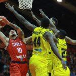 Chile cayó estrechamente ante Colombia en las clasificatorias a la FIBA Americup 2021