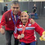 Juan Carlos Garrido gana medalla de oro en la Copa del Mundo de Para Powerlifting de Manchester