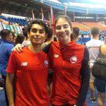 Katina Proestakis y Jorge Valderrama se coronaron campeones en el Panamericano Juvenil de Esgrima
