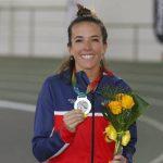 María Fernanda Mackenna y Alejandro Peirano se subieron al podio en el cierre del Sudamericano de Atletismo Indoor