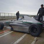Nicolás Pino realiza sus primeros entrenamientos en Silverstone antes de debutar en la F4 Británica