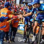 Pablo Alarcón obtuvo el puesto 95 en la última etapa del Tour Colombia