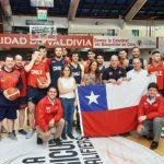 Seleccionados de básquetbol protestaron durante visita de la Ministra del Deporte