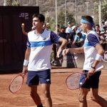 Alejandro Tabilo y Tomás Barrios eliminan a los favoritos en el cuadro de dobles del ATP de Santiago
