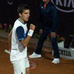 Tomás Barrios remontó y avanzó a los octavos de final del ATP de Santiago