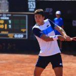 Tomás Barrios se despidió del Challenger de Iasi tras caer en la segunda ronda