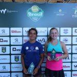Antonia Vergara se tituló campeona en singles 14 años del Brasil Juniors Cup