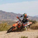 Matteo de Gavardo volvió a Chile tras la suspensión del Campeonato de España de Moto Enduro
