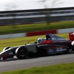 Nicolás Pino fue presentado junto a su equipo en el lanzamiento oficial de la Fórmula 4 Británica