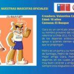 Clara y Pedro serán las mascotas oficiales de los I Juegos Sudamericanos Máster Santiago 2021