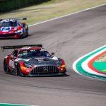 Benjamín Hites practicó en Imola en el comienzo del GT World Challenge de Europa