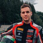 Benjamín Hites realizó una nueva prueba de preparación para el GT World Challenge