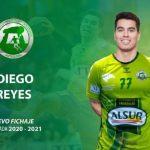 Diego Reyes se convirtió en el nuevo refuerzo del BM Iberoquinoa Antequera