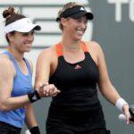 Alexa Guarachi y Desirae Krawczyk avanzaron a los octavos de final de dobles del WTA de Cincinnati