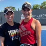 Alexa Guarachi y Desirae Krawczyk cayeron en los octavos de final de dobles del WTA de Cincinnati