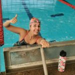 Se acabó la espera: Tras 143 días Bárbara Hernández volvió a la piscina
