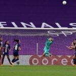 Christiane Endler fue titular en la derrota del PSG por las semifinales de la Champions League Femenina