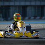 Una lesión y un choque de los punteros complicaron a Cristián Pastrián en el CIK FIA Academy Trophy