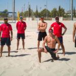 Team Chile de Volleyball Playa se prepara en España