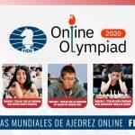 Chile debuta este viernes en las Olimpiadas Mundiales de Ajedrez Online 2020
