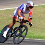 Carlos Oyarzún ocupó el lugar 39 en la contrarreloj del Mundial de Ciclismo en Ruta