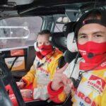 Una falla del motor provocó el abandono de Emilio Fernández en el cierre del Rally de Estonia