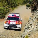 Emilio Fernández y Alberto Heller tuvieron un buen debut en el Rally de Turquía