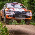 Emilio Fernández debió retirarse en la jornada sabatina del Rally de Estonia