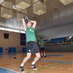 Esteban Villarreal ya entrena en el Unicaja Costa de Almería