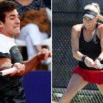 Cristian Garin y Alexa Guarachi se despidieron de Roma tras caer en dobles